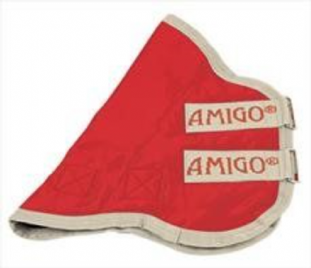 Amigo® Hood Turnout 0g Red with Pumice